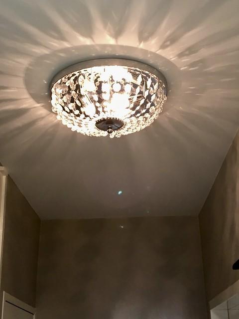 Lamp hal landelijke stijl