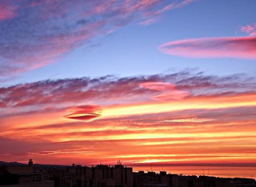 cielo costadelsol amanecer marbella málaga mar mediterráneo españa spain sunrise andalucia