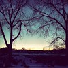 Sunset & Snow by kay.andersonn