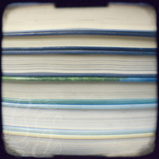 Book stripes - blue