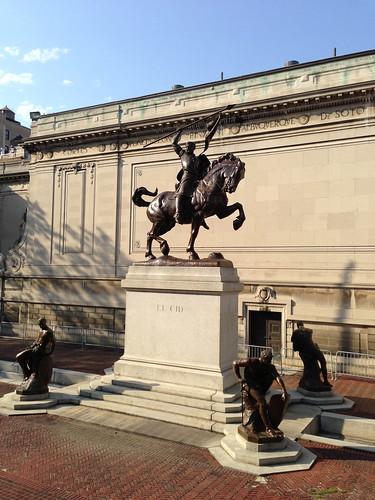 El Cid statue, Audubon Terrace