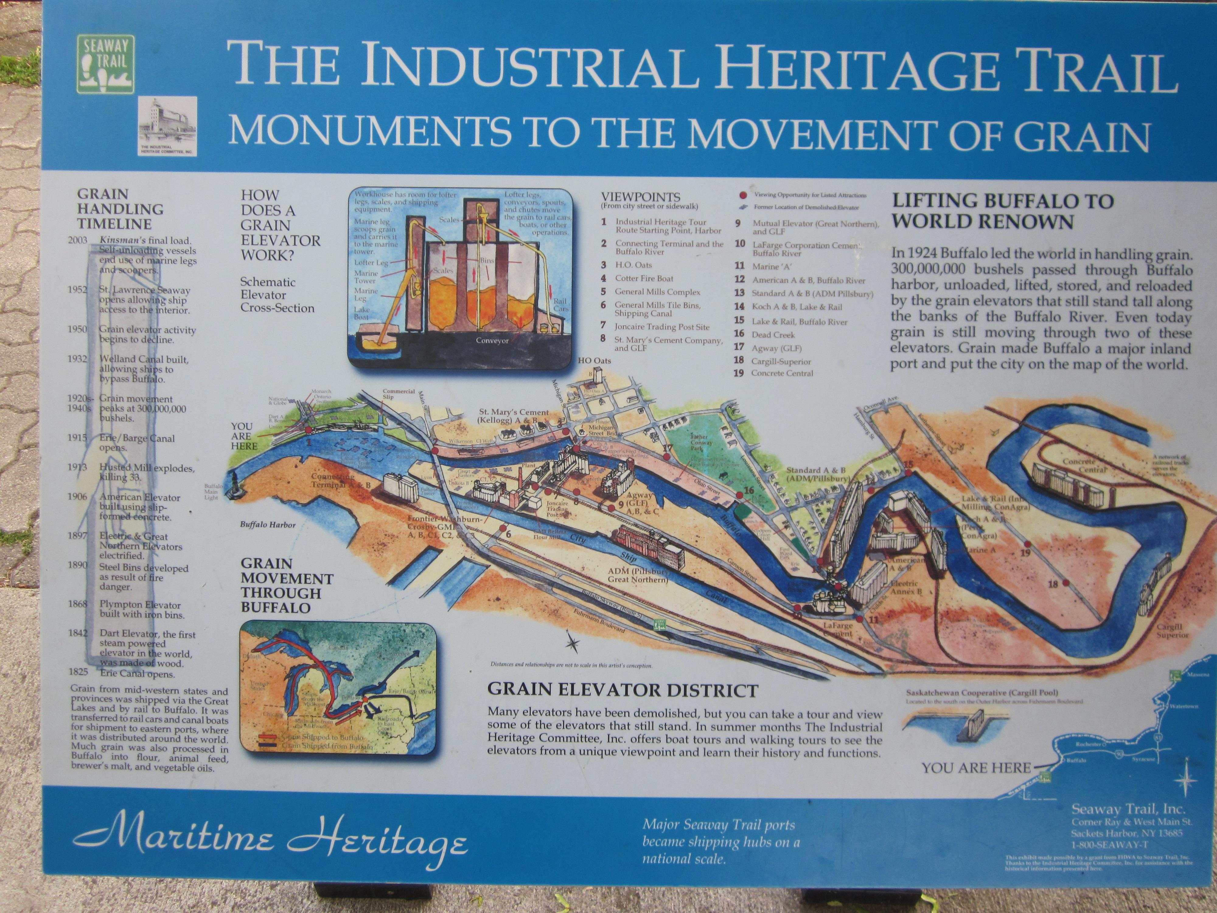 June Low Bridges Upstate History - Us grain elevator map