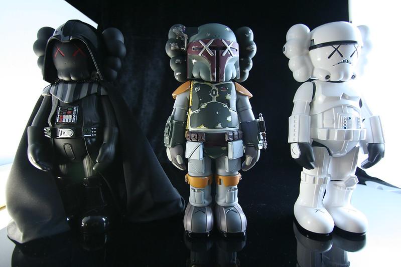 KAWS Star Wars Companions