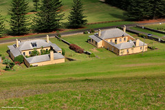 View Across No.6 and 7 Quality Row, Queen Elizabeth Lookout, Norfolk Island