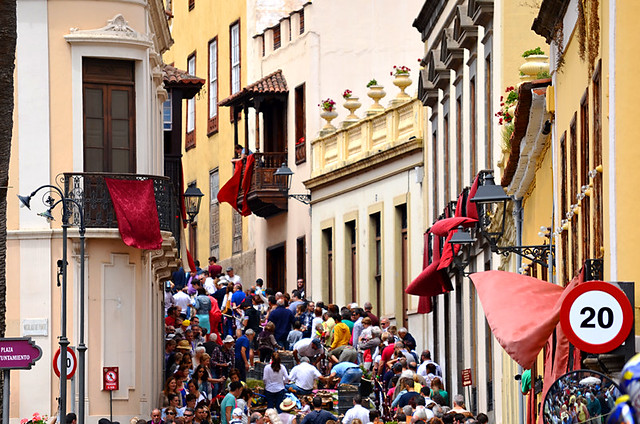 Crowds, Corpus Christi, Flower Carpets, La Orotava, Tenerife