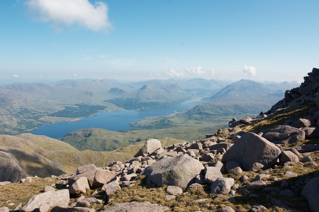 Loch Etive from the south ridge of Taynuilt Peak