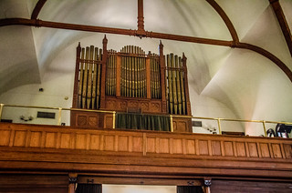 Circular Congregation Church Organ and Choir Loft