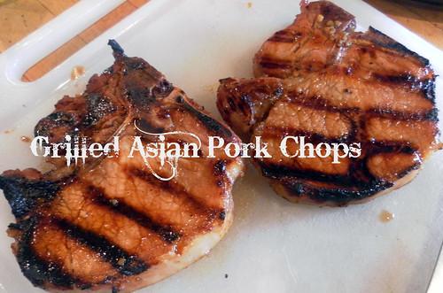 Grilled Asian Pork Chops