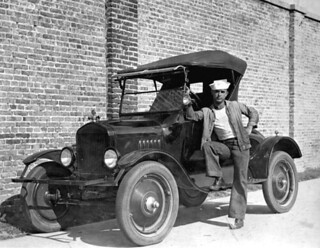 Luther W. Coleman and his Chevrolet: St. Petersburg, Florida