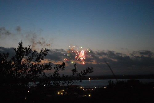 Fireworks over Old Town Bandon