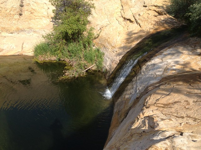 Upper Calf Creek pool
