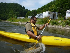 whitewater kayaking(0.0), canoe(1.0), vehicle(1.0), sports(1.0), river(1.0), watercraft rowing(1.0), kayak(1.0), boating(1.0), water sport(1.0), kayaking(1.0), watercraft(1.0), sea kayak(1.0), canoeing(1.0), boat(1.0), paddle(1.0),