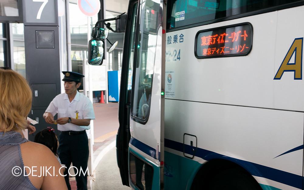Narita Airport - Airport Limousine Bus Boarding