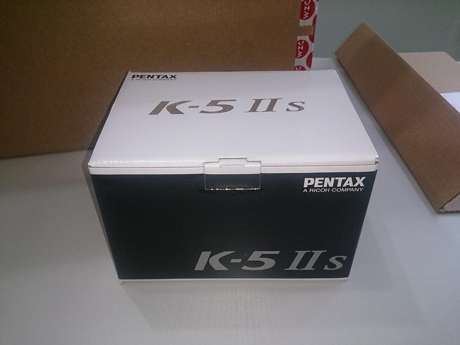 K5IIs  簡易開箱  先開大箱  晚上在開小的