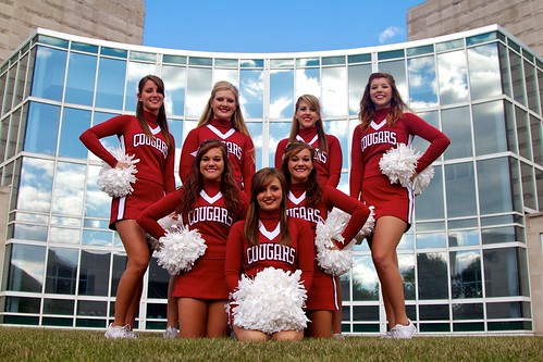 2013 IU Kokomo Cougars Cheerleaders