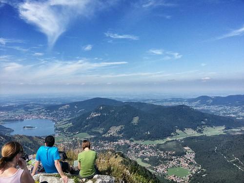 Brecherspitz-Gipfelblick