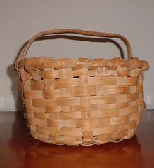 storage basket, wicker, basket,