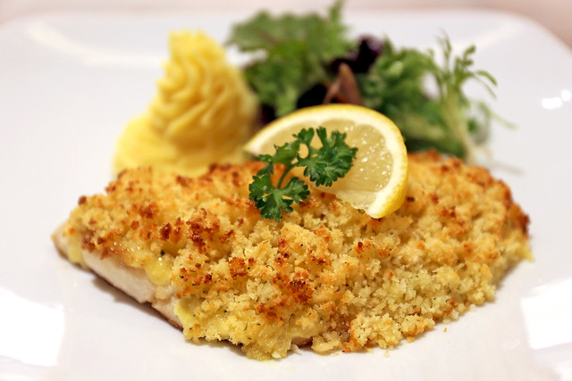 Herb Crusted King Snapper