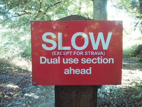 Slow Except for Strava