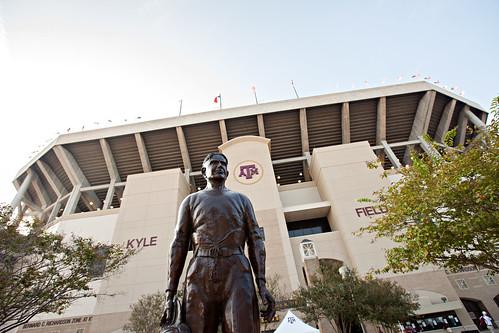 12th Man - E. King Gill Statue Wide