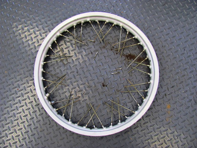 Front Rim with Cut Spokes