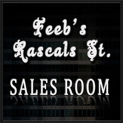 NEW LOGO FEEBS RASCALS SALES ROOM - SEPT 13