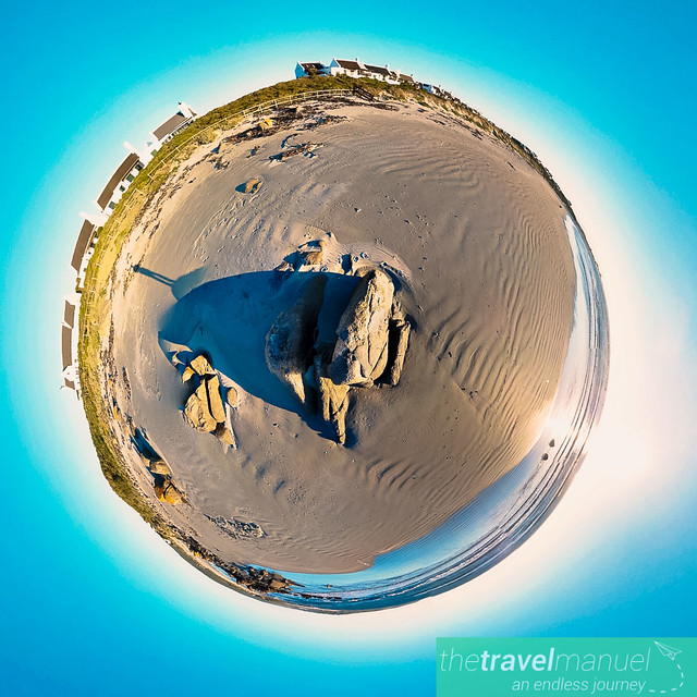 Gonnesmanskraal Jacobsbaai Tiny Planet RS