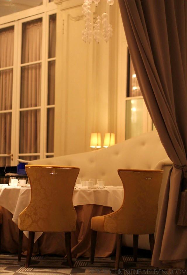 Trianon Versailles Waldorf Astoria Gordon Ramsay settee - by Chic n Cheap Living