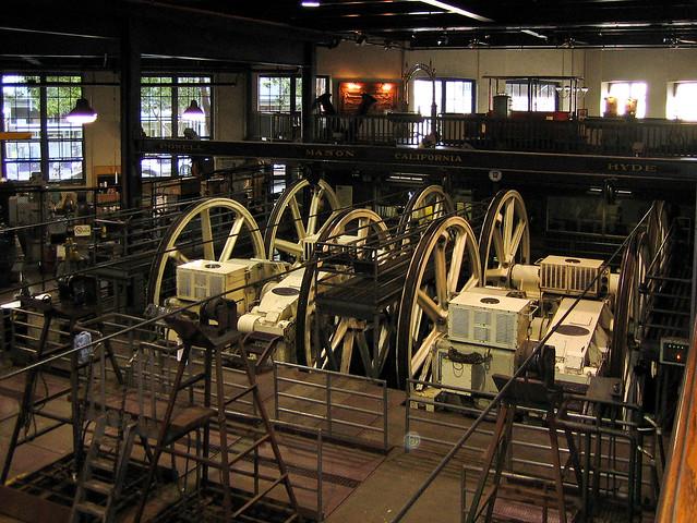 Cable Car Museum (4/9) — San Francisco