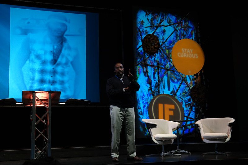 Hasan Davis walks on to the #IF13 stage and instantly OWNS it!