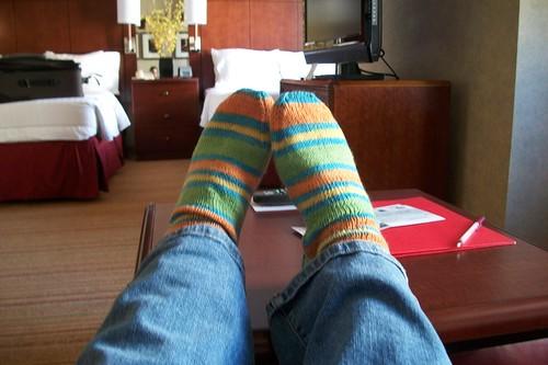 construction paper socks
