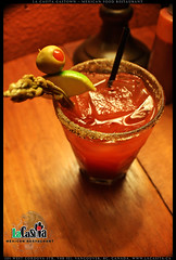 authentic caesar at La Casita Gastown in Vancouver BC