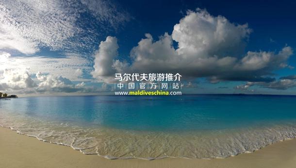 马尔代夫,蓝色珊瑚礁