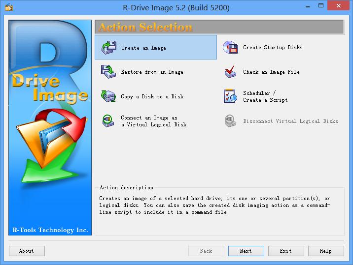 R-Drive Image 5.2 (Build 5200)