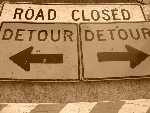 Detour. from Flickr via Wylio