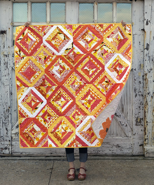 Sewing for all Seasons picnic quilt