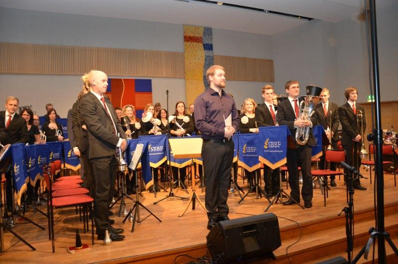 Brassbandfestivalen 2012 - Elit-divisionen. Betlehemskyrkans Musikkår. Dirigent: Andreas Lundin