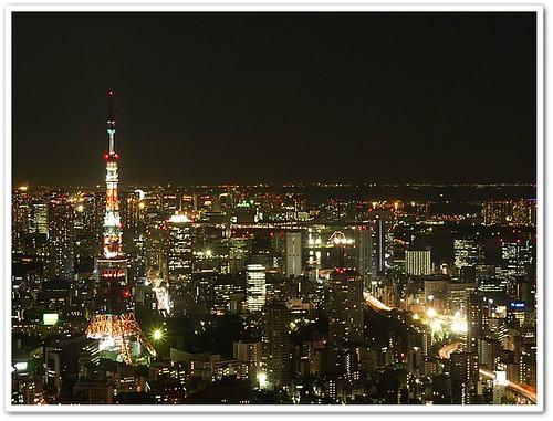 东京夜景第一选择,初见东京铁塔的感动