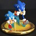 Sonic Generations Commerative Statue by vanie~
