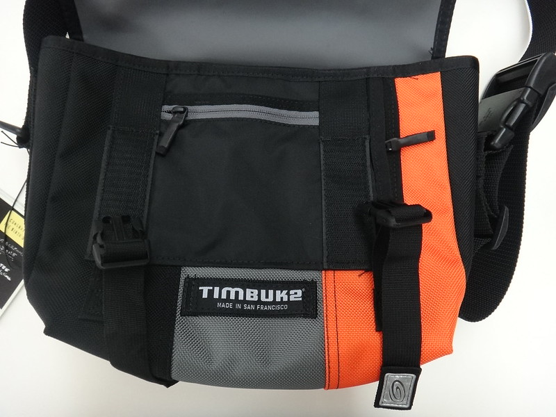 Timbuk2 Custom Classic Messenger Bag - Bag Open