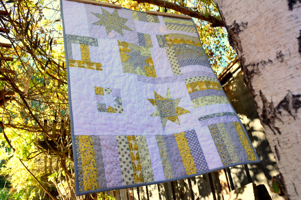 Improv Little Stars Quilt