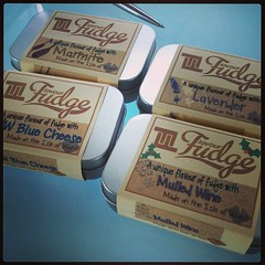 Some samples have just arrived. #fudge #IOW afternoon nom :-D