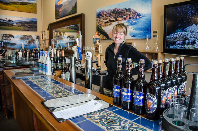 CC Gallagher's beer bar on Catalina Island