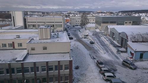 Вид из моего окна by Beliashou
