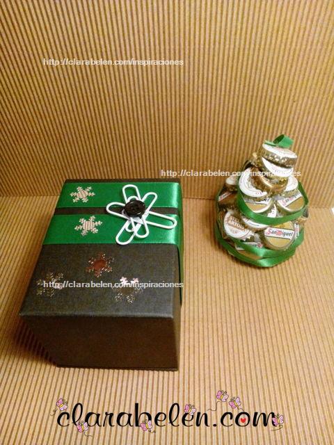 Envolver regalos de Navidad Packaging