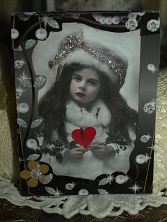 ATC for trade. The Heart of Christmas