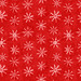 Joyful Snowflake Pattern - Red