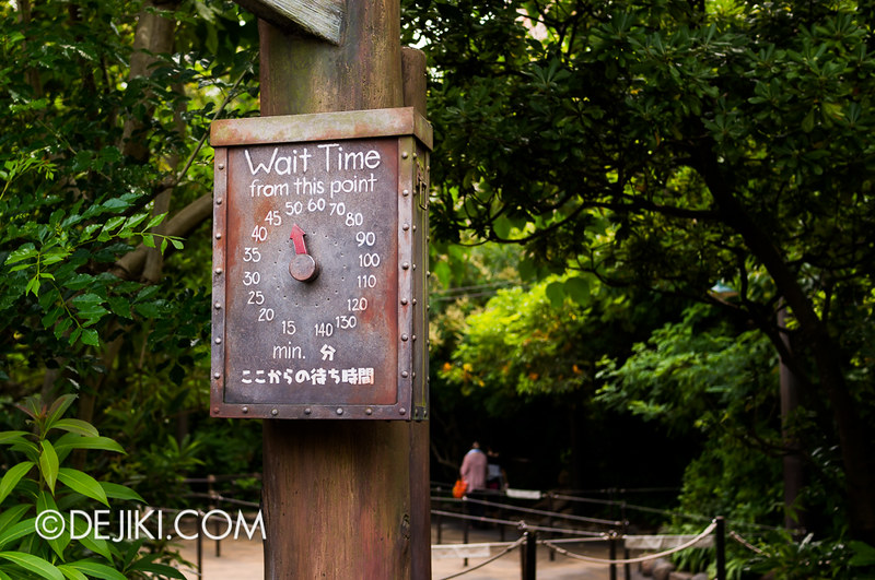 Tokyo DisneySea - Indiana Jones Adventure - Outdoor Queue