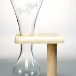 ベルギービール大好き!!【パウエル・クワックの専用グラス】(管理人所有 )