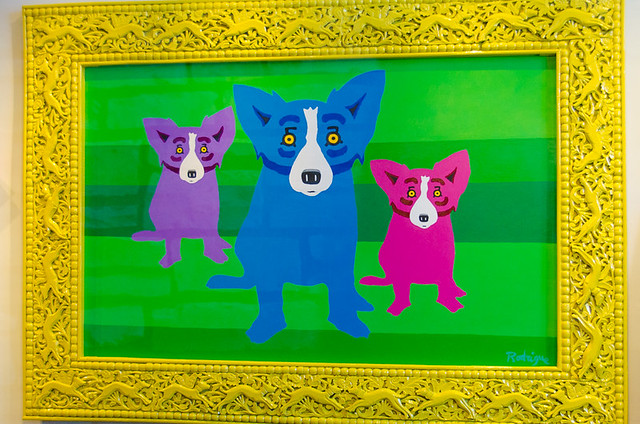 George Rodrigue Gallery - Dog Friendly Carmel